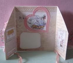 Składana karta ślubna