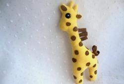 Soft toy - giraffe