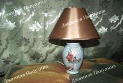 Лампа shabby chic
