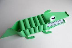 Crocodil de hârtie