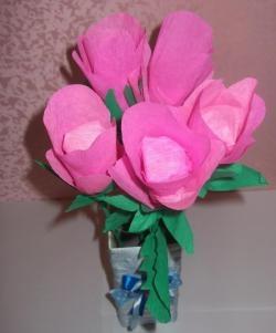 ช่อดอกไม้จากขนม