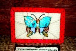 İğnesiz Patchwork - Kinusaiga: Kelebek