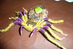 Spider și folie păianjen