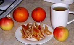 Manteiga de laranja cristalizada