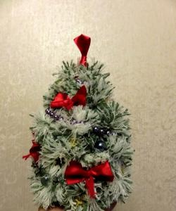 Árvore de Natal de pompons