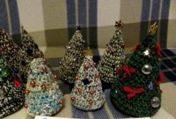 Árvore de Natal em malha