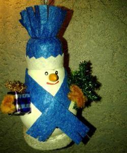 Snowman af pærer
