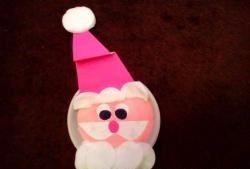 Дядо Коледа от хартия