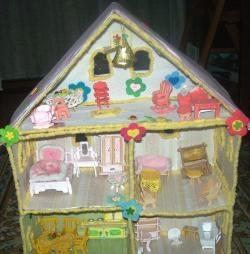Как да направите къща за кукли със собствените си ръце?