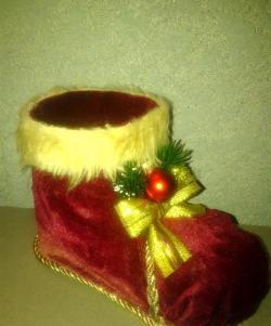 Нова година обувка