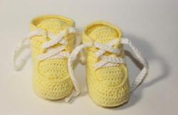 Hæklet babystøvler