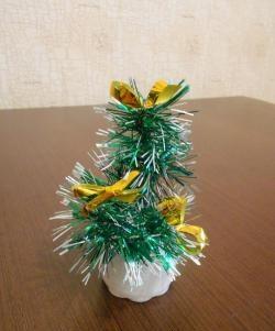 Mini árvore de Natal para escritório