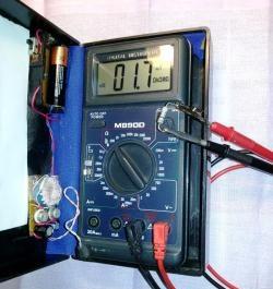 Τροφοδοτικό μπαταρίας 1,5 volt
