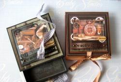 23 Şubat için erkek hediye kutuları