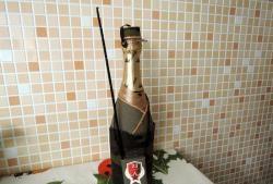 Cum să obții o sticlă de șampanie până pe 23 februarie