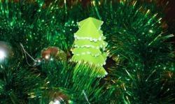 Papierweihnachtsbaum in 10 Minuten