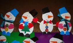 Omul de zăpadă de Anul Nou