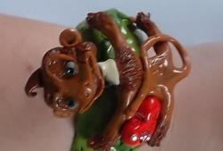 Wyrzeźbić uroczą małpkę