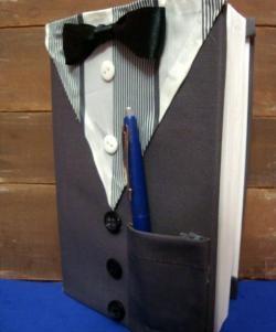 Caderno elegante para homens