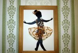 "Obraz na panelu ""Mała baletnica"""