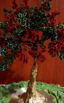 Bead tree - un suvenir original