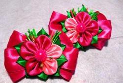Φωτεινό τόξο με λουλούδι για τα μαλλιά