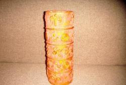 Vaso de bobinas de uma fita adesiva