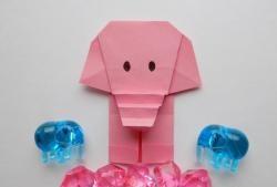 Como fazer um elefante de origami