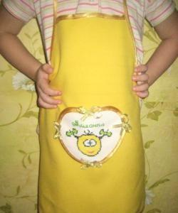 Avental de bebê