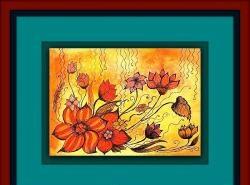 Zimne i ciepłe kolory: kompozycje kwiatowe