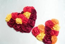 """""""Inima florilor"""" - felicitare"""