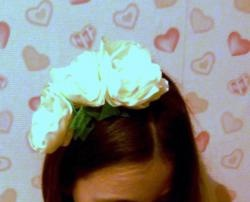 Faixa de cabelo de flor