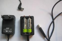 Carregador de bateria portátil
