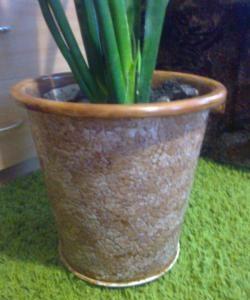 Gėlių vazonų dekoravimas