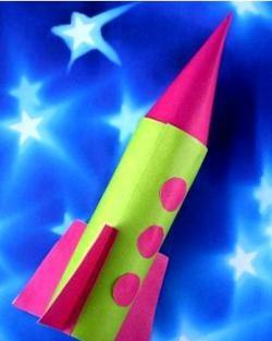 DIY raket - håndværk med børn