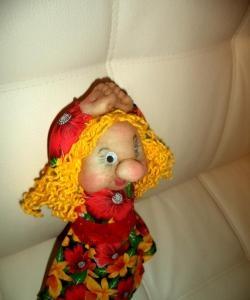 Кукла от капрон