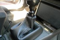 How to sew a gearshift cover yourself
