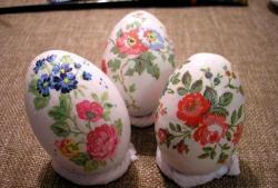 Ouă de decupaj de Paște