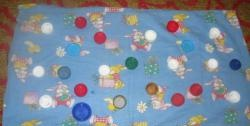 Do-it-yourself massage mat for baby