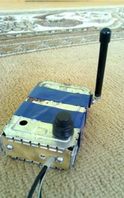 Transmissor de áudio simples