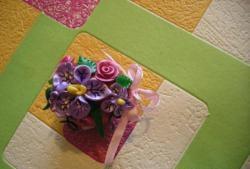 Påske 3D blomsterbed
