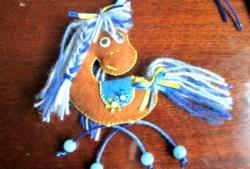 Filt hest