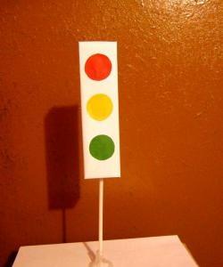 Oyuncak trafik ışığı