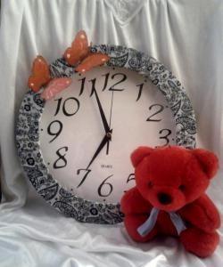 Ręcznie robiony zegar