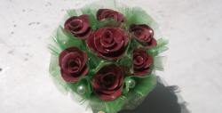 การจัดดอกไม้และพอร์ซเลนเย็น