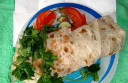 Shawarma στο σπίτι