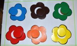 """Детска игра """"Учене на цветове"""""""