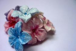 ดอกไม้สำหรับตกแต่งดินโพลิเมอร์