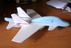 Deckenplatte Flugzeug