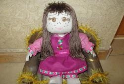Дърпана кукла Алина